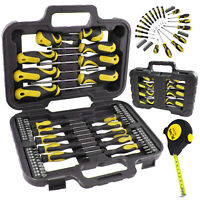 Screwdriver & Bit Set Magnetic Precision Mechanics Tool Kit Torx Phillips 59pc