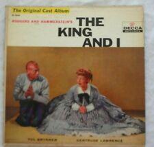 THE KING AND I , YUL BRENNER Original Cast Recording  LP Vinyl Album