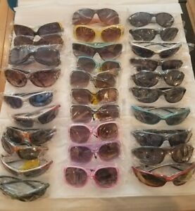 Bulk Sunglasses Wholesale Lot 30 Pcs Assorted Styles Men, Women & Kids UV400