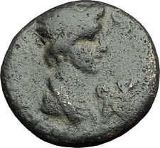 PERGAMON in Mysia 40AD Authentic Ancient Greek Coin ROMAN SENATE & ROMA i62407