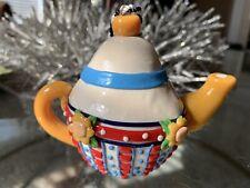 Mary Engelbreit Tea Pot Christmas Ornament 3.5�