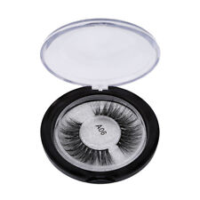 Women's  Pro Real Mink False Eyelashes Long Cross Faux Lashes Extension Makeup