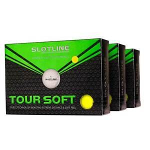 NEW Slotline Tour Soft Golf Balls - 3 Dozen Yellow