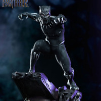 Marvel Avengers Infinity War Super Hero Black Panther Statue Action Figure Toys