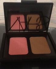 Nars Blush/Bronzer cheek palette *Deep Throat /Laguna*  Limited edition NIB
