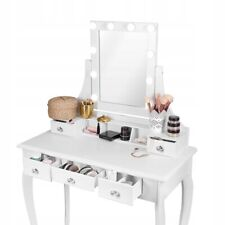 Light Up LED Dressing Table & Wall Mounted Cosmetic Vanity Mirror Hollywood