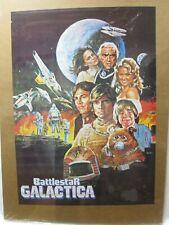 BATTLESTAR GALACTICA SPACE MOVIE TV 1980 VINTAGE POSTER GARAGE CNG655