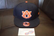 f0fbd9ad17b New Era Men s Auburn Tigers 9Fifty Snapback Hat Navy Orange Adjustable
