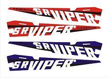 YAMAHA VIPER TUNNEL KIT DECAL STICKER SR RTX LTX XTX 129 137 141 SE 2014 logo 15