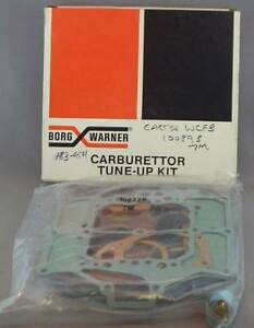 TUNE-UP Service Kit FOR CARTER WCFB Carburettor 100339B 7M Borg Warner 183-9501