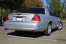 "FOR Mercury Marauder Painted ""Flat Black"" Factory Style Rear Spoiler Wing 2003+"
