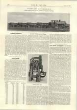 1914 Fireless Locomotive Barclay Toggle Action Press