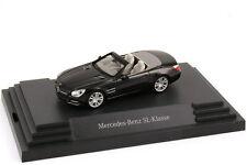 1:87 Mercedes-Benz SL-Class 2012 R231 obsidian-black black - DEALER OEM