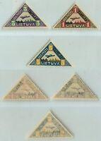 Lithuania, 1922, SC C15-C17, mint. d6283