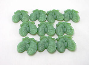 LOT OF 10 PEARL GLYCERIN SOAP BARS UNSCENTED IN BOWS GREEN MIST COLOR T118970