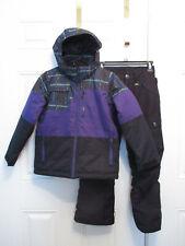 Boulder Gear Waterproof Winter Jacket Snowboard Pants Snowsuit Boys Med 9/10
