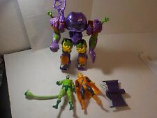 "Toy-biz Vintage 1990s SPIDER-MAN Animated 5"" Figure lot HOBGOBLIN SCORPION MECH"