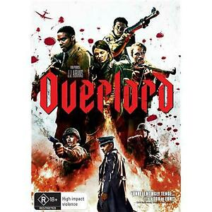 OVERLORD DVD, NEW & SEALED, 2019 RELEASE, REGION 4, FREE POST