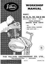 (1470) Villiers Mk9E 2L 3L 31C 32A 34A workshop manual
