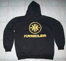 NUOVO Kreidler Fan Con Cappuccio Maglione Hoodie Nero Haagse Jacket JAS Giacca Vest Gilet