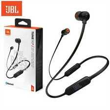 JBL Kopfhörer Bluetooth In-Ear schwarz Tune 110BT Kabellos Akku Mikrofon Headset