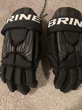 Black Brine Lacrosse Gloves