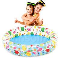 Inflatable Swimming Toddler Summer Garden Paddling Pool Toy Kids Fun Outdoor