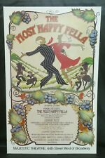 """The Most Happy Fella Theater Broadway Window Card Poster 14"""" x 22"""""""