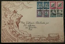 1938 Bulhoek South Africa First Day Souvenir Cover FDC Voortrekker Monument