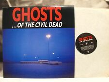 GHOSTS … OF THE CIVIL DEAD - NICK CAVE - SOUNDTRACK LP UNPLAYED UK MUTE IONIC 3