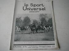 Le Sport Universel illustré 08.03.1930 Société de Fox-hunting d'Oerkény  n°1401