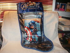 Marvel Avengers Assemble Super Hero Captain America Stocking New Hologram Image
