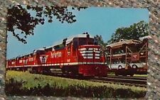Burlington Route Railroad Wallet Card Calendar - 1963