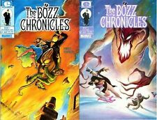 THE BOZZ CHRONICLES 1 & 4 NM MINT MARVEL EPIC