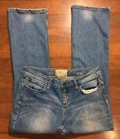 American Rag Boot Cut Jeans Size 11S Short Women's Low Rise Medium Wash Denim