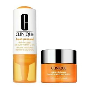 Clinique Fresh Pressed 7 Day Recharge System Superdefense SPF 25 Cream Oily Skin