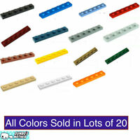 LEGO 1x6 Plate Building Plates Pick Colors NEW Lots of X20