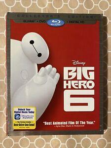 Big Hero 6 (Blu-ray/DVD, 2015, 2-Disc Set)