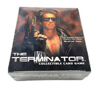 The Terminator Collectible Card Game Trading Cards Box 24 Packs Factory Sealed