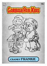 WAX.io / Topps DIGITAL ONLY Garbage Pail Kids CRANKIE FRANKIE 18a SKETCH Card