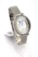 WITTNAUER WOMEN Watch WN4038 Crystal Stainless Steel Bracelet Retail $325