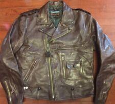Eastman Leather ELMC ROADSTAR Horsehide jacket American Walnut Size 44