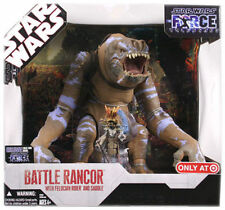 NEW STAR WARS BATTLE RANCOR RIDER AND SADDLE FIGURE FORCE UNLEASHED CHEAT CODE