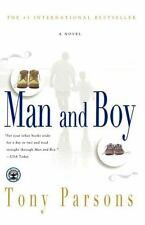 Man and Boy : A Novel by Tony Parsons (2002, Paperback)