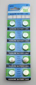 10pcs Battery for NIKON: FM, FM-2, FM-2N, FM-10, FE, FE-2, EM, FG, FG-20,