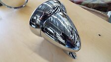 "4 1/2"" Bullet Race & Sports Car GT Racing Chrome Side Exterior 1 Mirror Rat Rod"