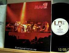 MAN-Be Good to Yourself... - ORIG. 1972 UK UAG 29417 LP M -/VG +/Gimmick-COVER