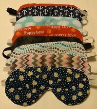 Handmade Sleep Masks - Adjustable Strap - Cute Patterns