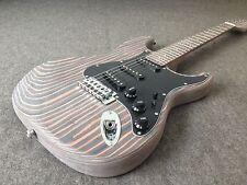 Starshine ST Unfinished Electric Guitar Kit One piece Wood Body DIY Kit CNC Made