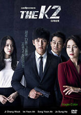 The K2 Korean Drama (4DVDs) Excellent English & Quality!